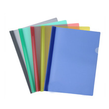 Factory price a4 clear plastic sliding bar file folder on sale