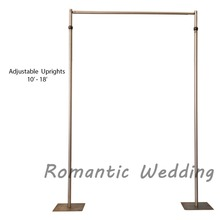 Wholesale telescopic adjustable cheap pipe and drape kits for wedding