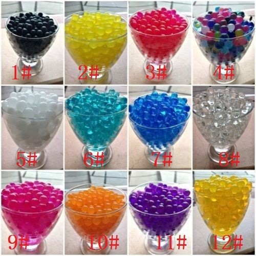 UK Wedding Vase Centerpiece Cystal Soil Water Aqua Beads Soil Bio Gel Ball Beads
