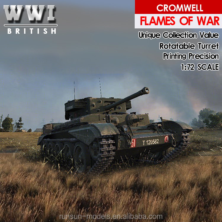 1:72 scale CROMWELL MK.IV - 1944 die cast military model