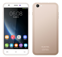 5.5 Inch Dual SIM 3G Android mobile phone OUKITEL U7 Pro With Android 5.1 MTK6580 Quad Core 1GB 8GB smartphone