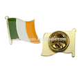 Scotland Ireland Lapel Pin Badges Irish Souvenir Metal Ireland Flag Pin Irish Flags World Flag Lapel Pins Marker