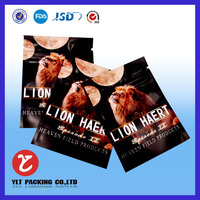bulk plastic waterproof zipper bags/ziplock aluminum foil bag sealer/custom printed foil laminated mylar ziplock bag
