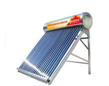 2013 new design compact non-pressurized solar water heater with attached tank with EN12975,SRCC,CE for Asia market