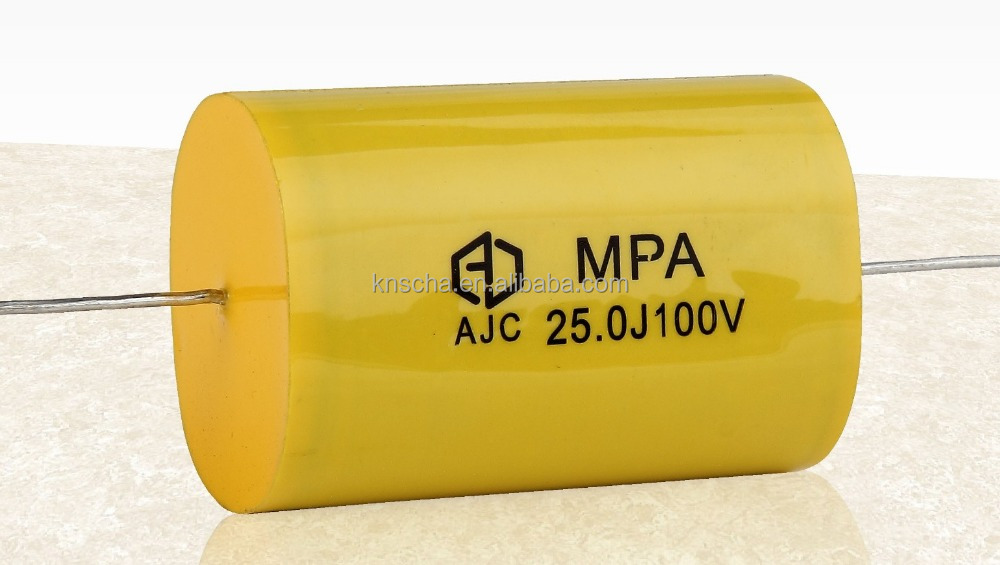 AJC CBB20 Metallized Polypropylene Film Capacitors -Axial 105 250v Used for the starting and working of single phase motor