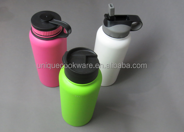 Unique Group 32-Ounce Stainless Steel Wide Mouth Insulated Water Bottle