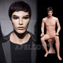 JACK 01 new standing realistic male mannequin moving mannequin
