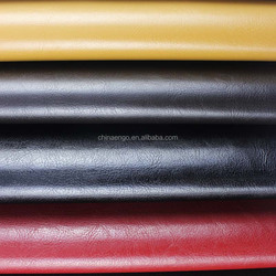 PVC or semi pu synthetic leather price per meter