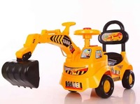 with music children digger,kid car,baby sliding car