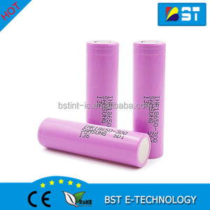 Samsung 30Q 18650 Li-Ion Rechargeable Battery Samsung SDI INR18650-30Q 3.7v 3000mAh 15amp discharge lithium ion cell