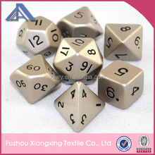2014 Hot Sale Fuzzy Laser Engraved Dice