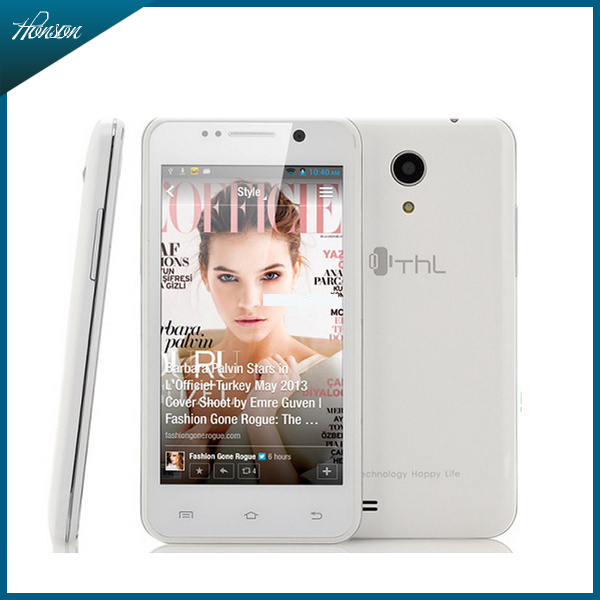 4.5 inch THL W100S W100 android phones Quad Core MTK6582M Android 4.2 1GB RAM 4GB Camera 8.0MP WCDMA