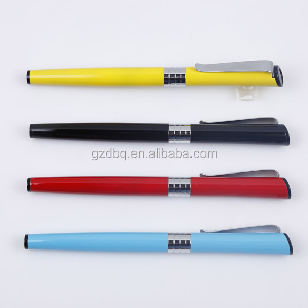 2017 new style high quality mult color pen metal ball pen with parker refll