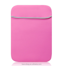 Pink Neoprene 13.3 Inch and 13 Inch Laptop notebook computer case/bag/sleeve