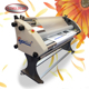 Hot and Cold Graphics Printing Laminator Rolling Laminating Machine