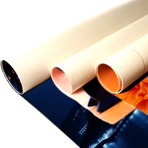 Eco solvent ployster glossy painting canvas roll, 3*6D, 230g