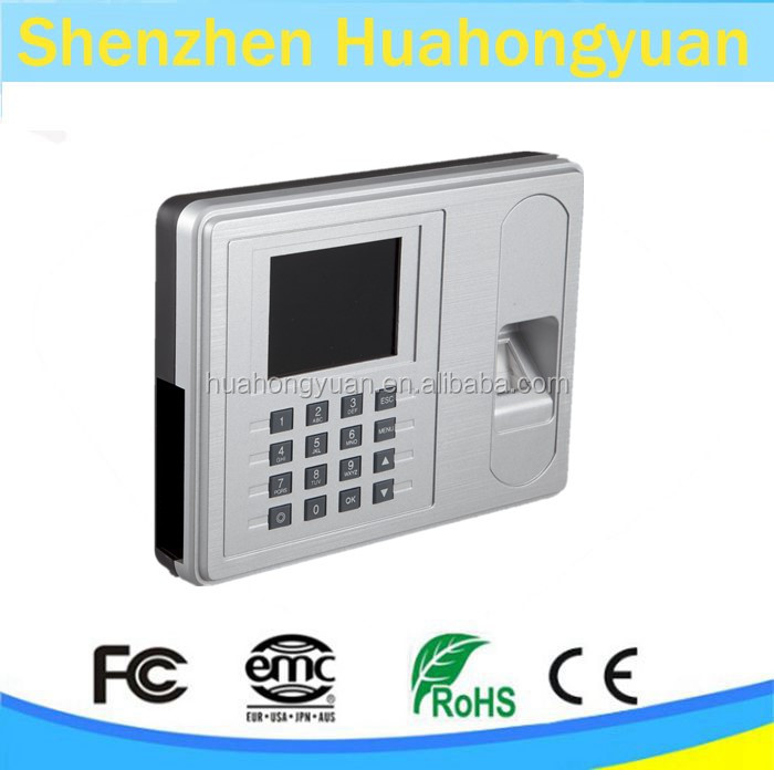 Factory China supplier f2 fingerprint time attendance and access control H57