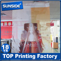 personalize double sided perforated pvc mesh banner worthy to order