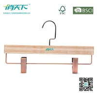 Betterall Hanger Manufacture Antique Trousers Pants Wooden Hanger