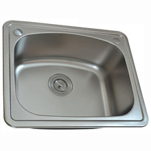 Stainless steel single bowl small utility hand wash sink prices