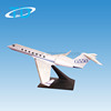ABS plastic GULFSTREAM G550 1:100 30cm air light plane
