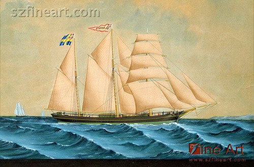 oil paintings of sailboats