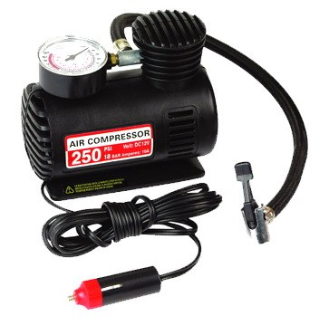 2016 top sales portable mini 12v air compressor or inflator