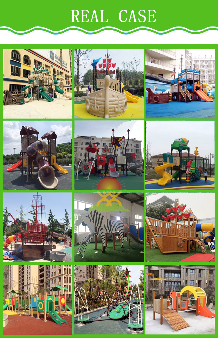 Excellent quality children outdoor playground park spiral tube slide for kids