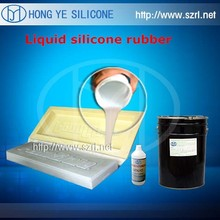 Liquid molds making silicone rubber for plastic micro frames