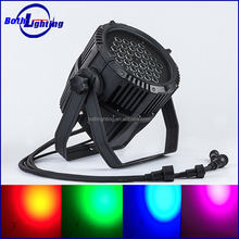 36 pcs 3w led par 64 rgb dmx stage lighting