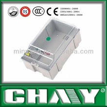 Three-phase mechanical style one meter box