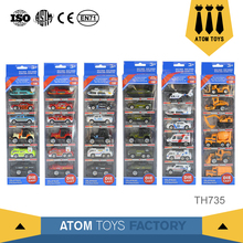 Collectable toys 1 64 scale diecast trucks vehicle set mini die cast car model for sale