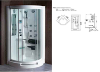 Computerized steam bath cabinet
