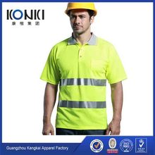 uniform police 3M reflective security uniform security guard uniforms hi-vis polo