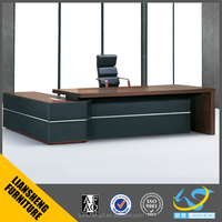 2016 Big size manager table/mesa executive table office table office furniture for big boss