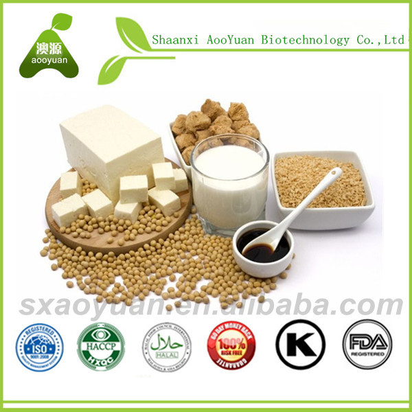 Soybean Extract Foods Containing Soybean Isoflavones Cake