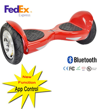 APP cellphone control hoverboard 10 inch self-balancing scooter electric kick scooter