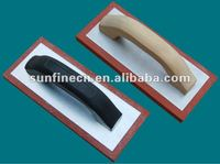 Foam rubber trowels for construction use