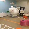 cute cartoon kindergarten PVC flooring