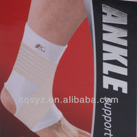 High quality protecting elastic ankle support with strap