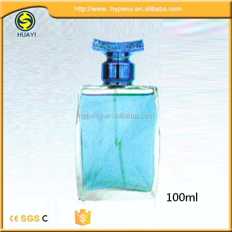 New kind of blue bottle perfume