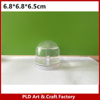 Mini Photo snow globe/Mini plastic small snow globe/Mini photo snow globe manufacture