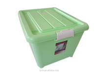 plastic large useful wheel wardrobe box