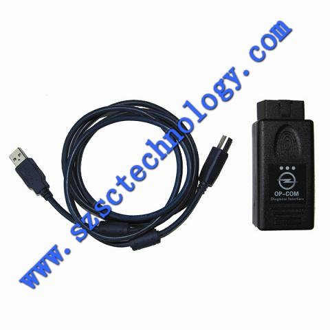 OBD2 Scanner, Eobd Op COM For Opel Diagnostic Tool, Op-COM Can Bus Interface For Opel, Op-COM Auto Scanner