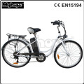 Classic 26'' green city electric bicycle / electric bike / e bike with CE/EN15194 YXEB-8602