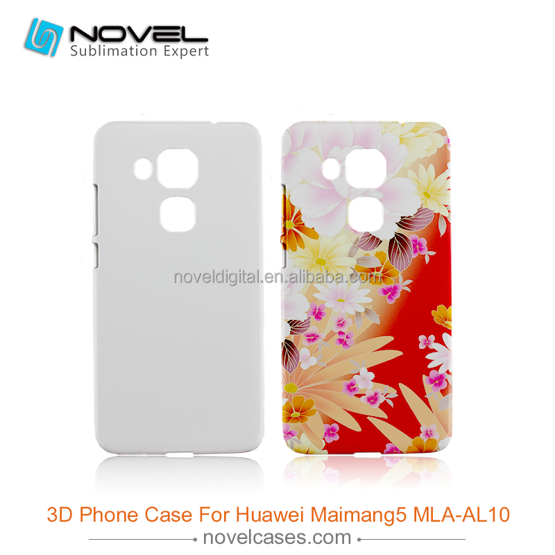 Hot selling Sublimation 3D Plastic Phone Cover For Huawei Maimang5MLA-AL10