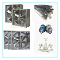 hot new products galvanized sheet greenhouse chicken house exhaust fan