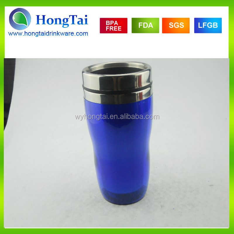 2015 16oz Inner Stainless Steel Outer AS Travel Mug With Paper Inserts