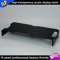 Custom high quality desktop clear acrylic computer monitor stand