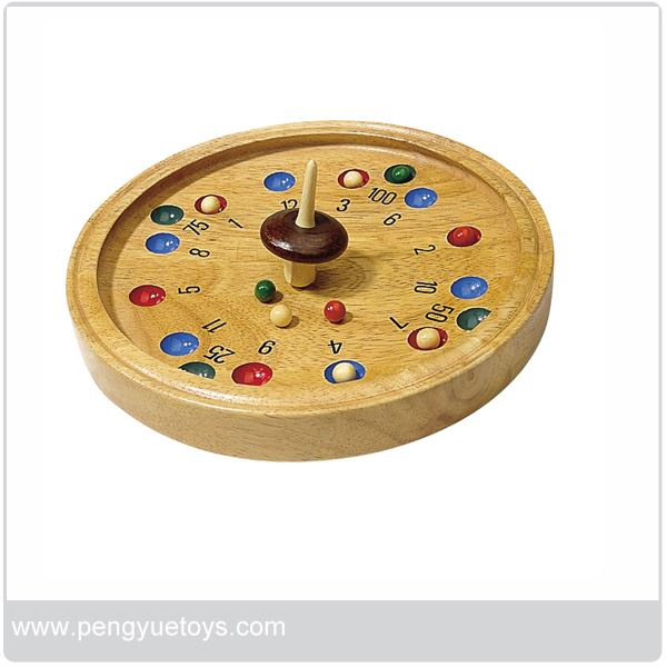 High Quality, wooden board Roulette games
